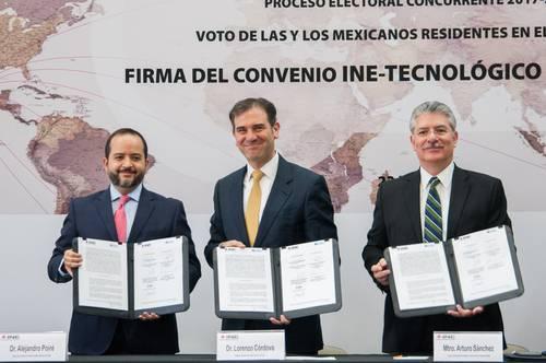La violencia no va a descarrilar la elección, afirma el titular del Instituto Nacional Electoral, Lorenzo Córdova