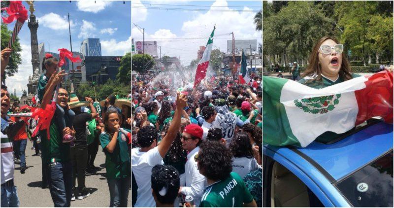 Triunfo del Tri paraliza al país: la gente toma calles y plazas de varias ciudades para festejar