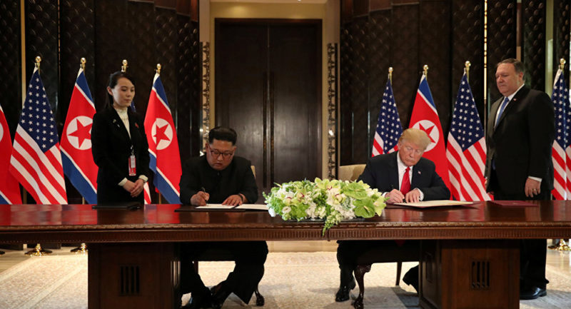 Video: Punto por punto: lo que dice el documento que han firmado Trump y Kim