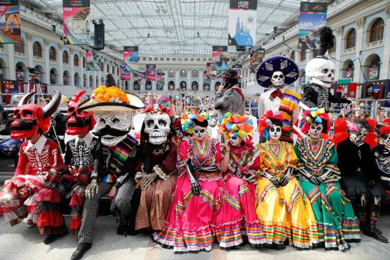 Impiden en Moscú desfile de Día de Muertos mexicano