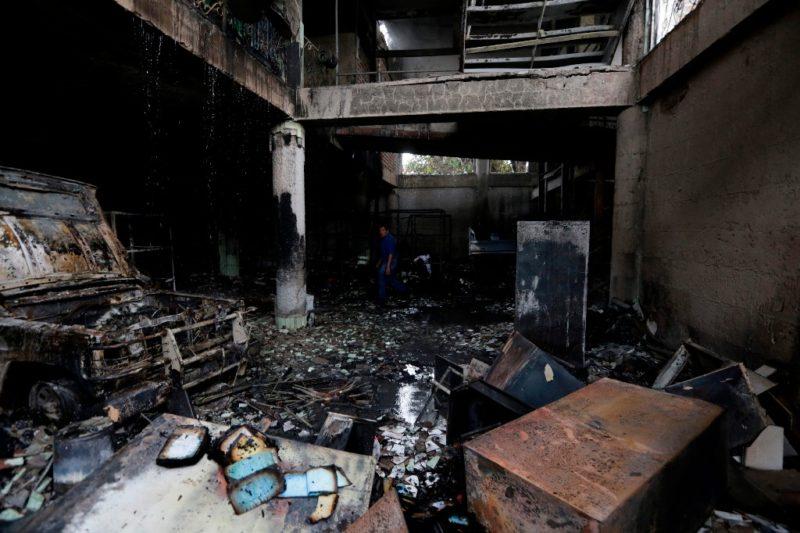 Tiroteo e incendio en Nicaragua rompen tregua; ocho muertos