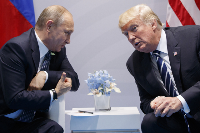 Putin y Trump se reunirán en Finlandia el 16 de julio