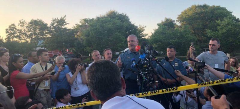 Videos: Ataque contra el diario Capital Gazette en Maryland: cinco muertos y diversos heridos de gravedad
