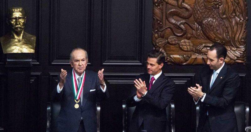 Fox, Calderón y Peña Nieto dieron a Bailléres, el tercer hombre más rico de México, 16,843 millones en 542 contratos, el 44% sin licitar