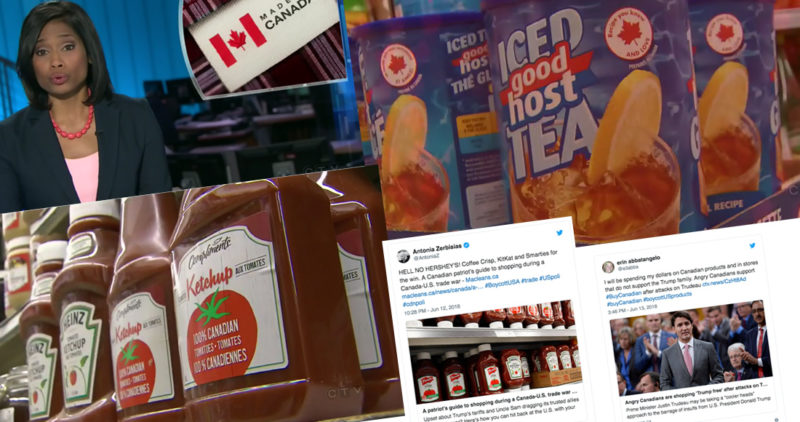 Ciudadanos de Canadá responden a Trump: boicotean viajes a EU, Walmart, McDonald y productos