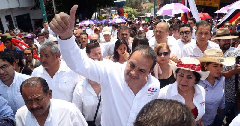 """Reforma: Cuauhtémoc Blanco alista """"goliza"""" en Morelos con 50% de la intención del voto"""