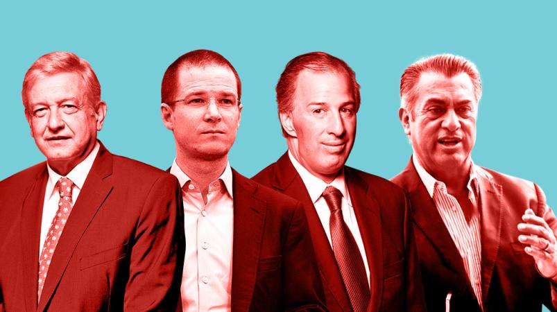 AMLO crece en preferencias: puede alcanzar 31.13 millones de votos.; el segundo lugar, en disputa, indica encuesta Mitofsky