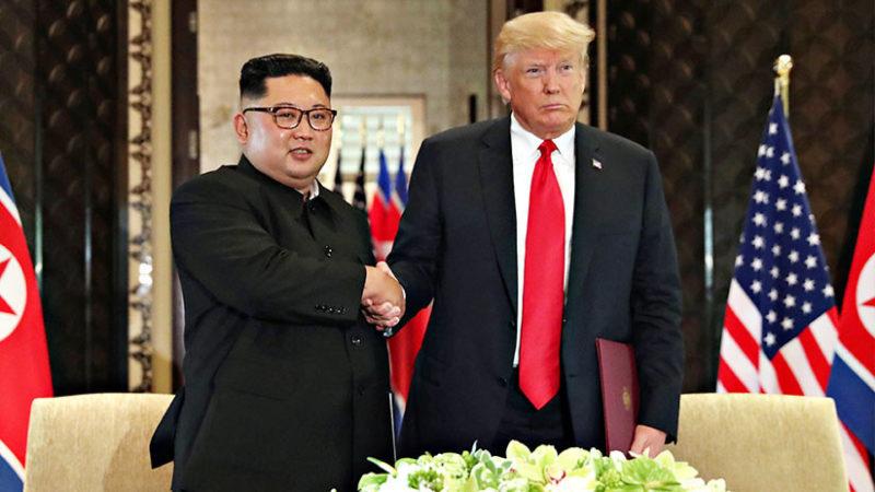 """Videos: Trump tras su reunión con Kim Jong-un: """"Las sanciones se mantendrán en vigor"""""""