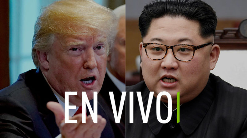 Videos: Arranca la histórica cumbre entre Donald Trump y Kim Jong-un