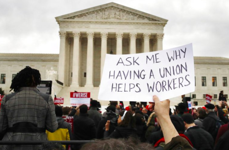 Inminente fallo de la Corte Suprema sobre el caso Janus, sobre si las cuotas sindicales seguirán siendo obligatorias  o pasan a ser optativas