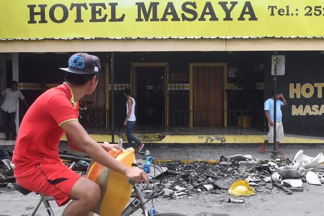Tras la matazón, Masaya sigue bajo asedio de policía y paramilitares