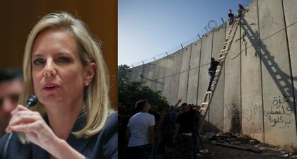 Máxima responsable de seguridad de EU visita Israel en busca de ideas para muro fronterizo con México
