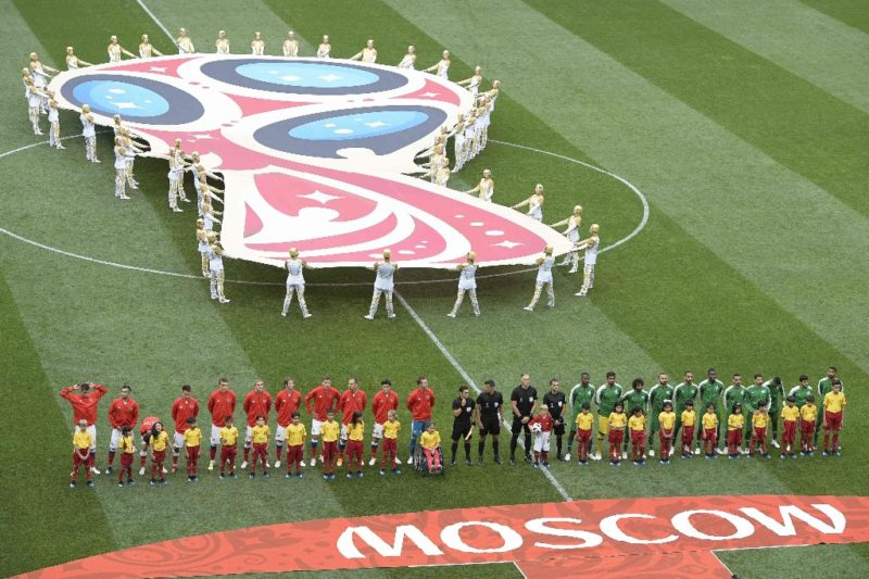 Putin inaugura el Mundial Rusia 2018