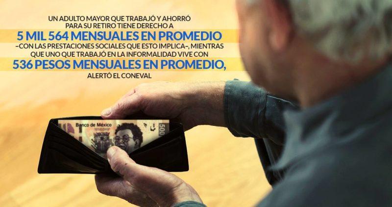 Los saldos de Peña: 68.4 millones, sin seguridad social; 26% de los adultos mayores, sin una pensión