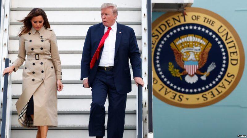 En medio de tensiones, Trump llega a Bélgica para Cumbre de OTAN