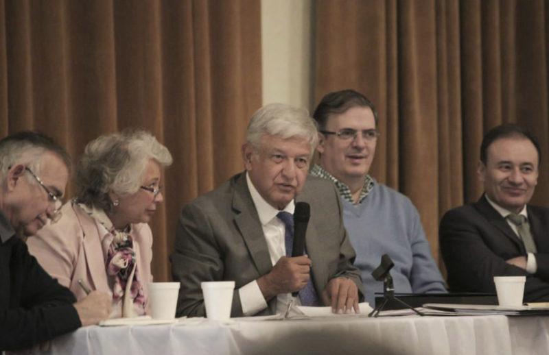 Equipo de AMLO difunde propuesta para pacificación del país