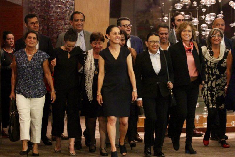 La jefa de Gobierno electa de la Ciudad de México, Claudia Sheinbaum, presenta su gabinete