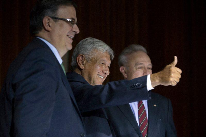 Propone AMLO a Ebrard para Relaciones Exteriores