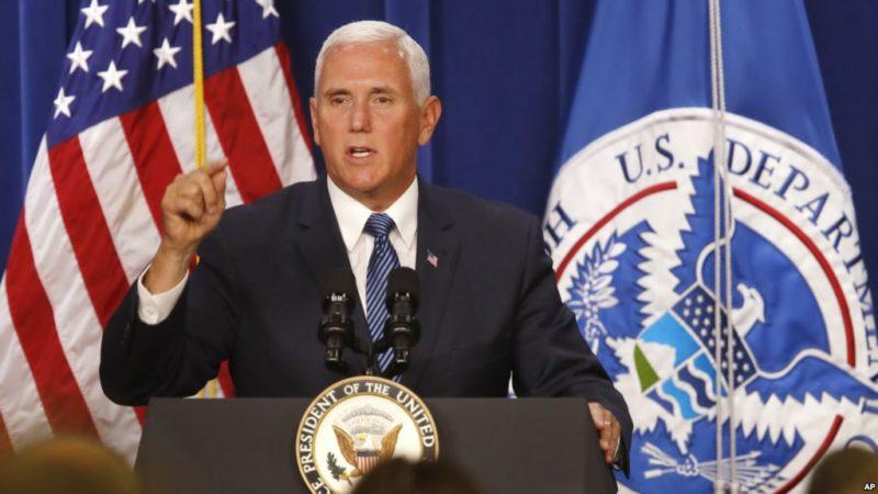"""Vicepresidente de EE.UU.: """"Nunca vamos a abolir ICE"""""""