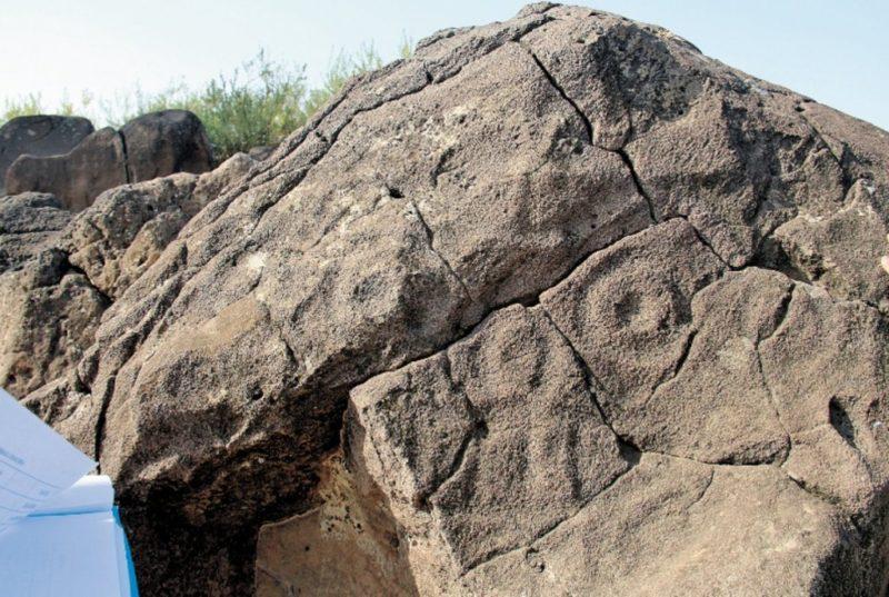 Hallan pintura de 7 mil años de antigüedad en China