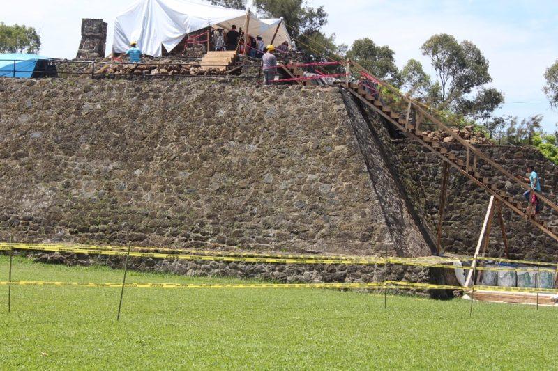 Sismo del 19/S revela restos de templo a Tláloc en Morelos