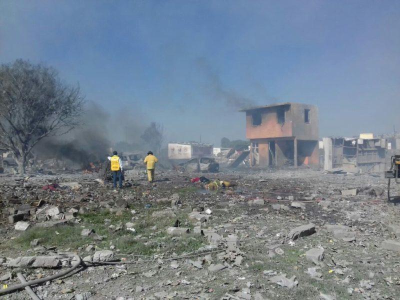 Video: En las tres explosiones en Tultepec; 24 muertos y 49 lesionados