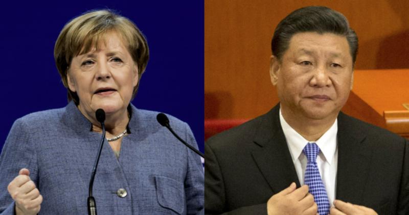 Canciller alemana, Angela Merkel, propone una reunión con AMLO; el presidente de China llama a reforzar cooperación