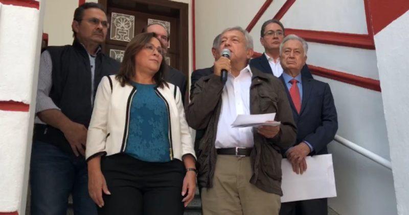 AMLO anuncia a Manuel Bartlett como próximo director de la CFE, y a Octavio Romero para Pemex