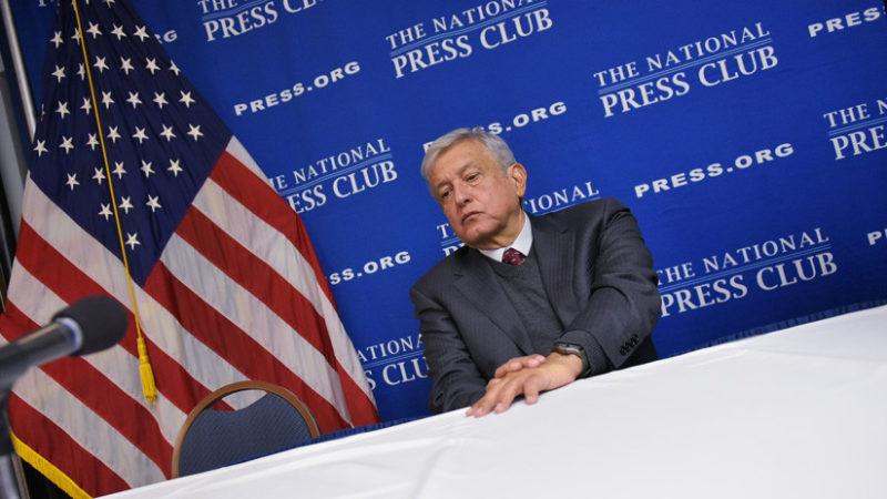 EU investigó a López Obrador desde el 2006, revela Wikileaks