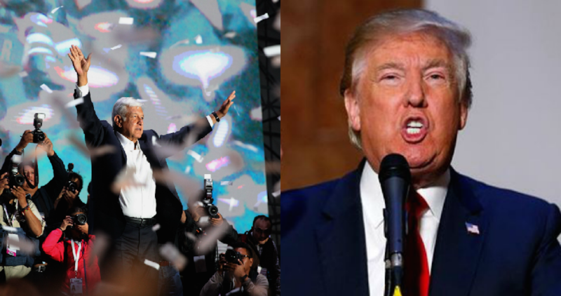 """Trump llamó a AMLO y hablaron media hora por teléfono; """"le propuse un proyecto integral"""", dice el izquierdista"""