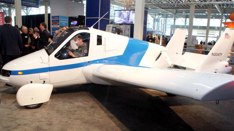 Video: Transition, el primer auto volador de Terrafugia llegará al mercado en el 2019