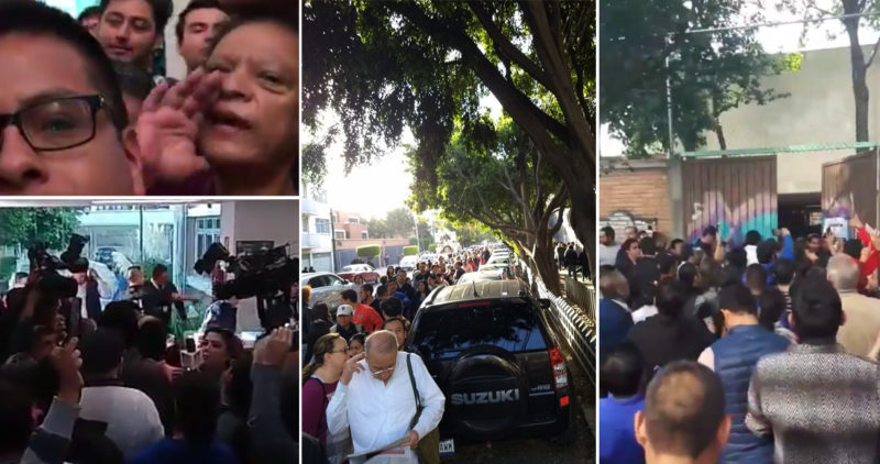 """Video: """"¡Queremos votar, queremos votar!""""; las casillas especiales, una vez más, son un desastre"""
