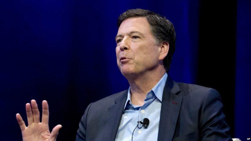 James Comey, exdirector del FBI,  llama a votar por los demócratas en elecciones