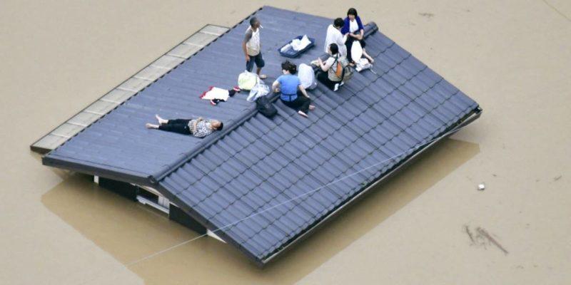 Más de 100 muertos y 68 desaparecidos por inundaciones y deslaves en Japón