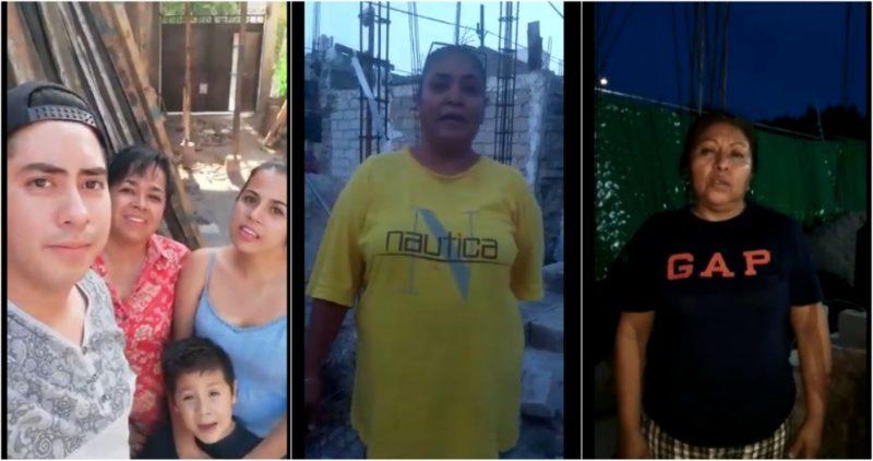 Damnificados de Jojutla difunden VIDEOS donde aseguran que sí recibieron apoyo de Morena