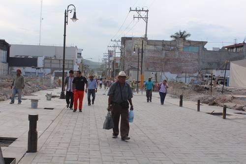 Cambio de gobierno, esperanza de damnificados por sismo en Jojutla