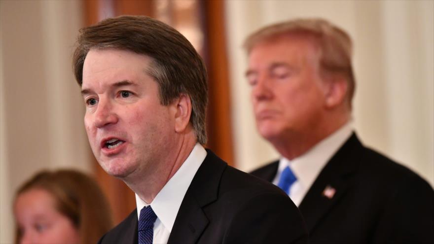Trump nomina a Kavanaugh como nuevo juez de Corte Suprema