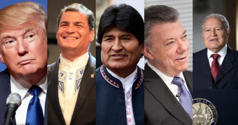 Trump quiere trabajar con AMLO y lo felicita, al igual que los presidentes de Bolivia, Colombia, El Salvador, y el ex presidente ecuatoriano Rafael Correa, entre otros