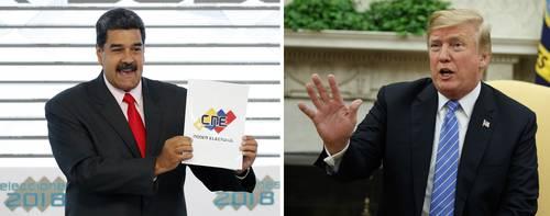 Trump quiere invadir Venezuela para derrocar a Maduro, asegura un funcionario