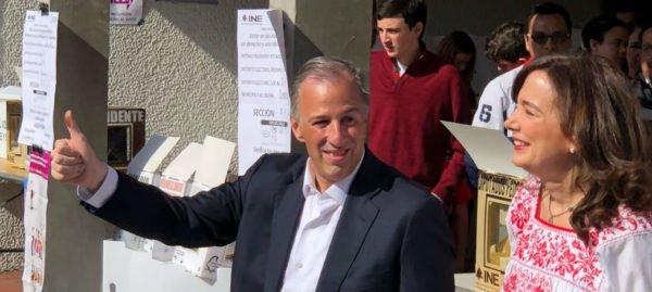 Meade ya votó: asegura que México ganará hoy y mañana