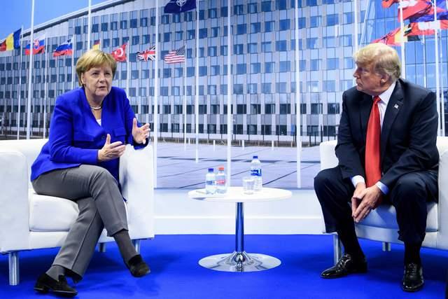 Logra OTAN consenso pese a choque Trump-Merkel