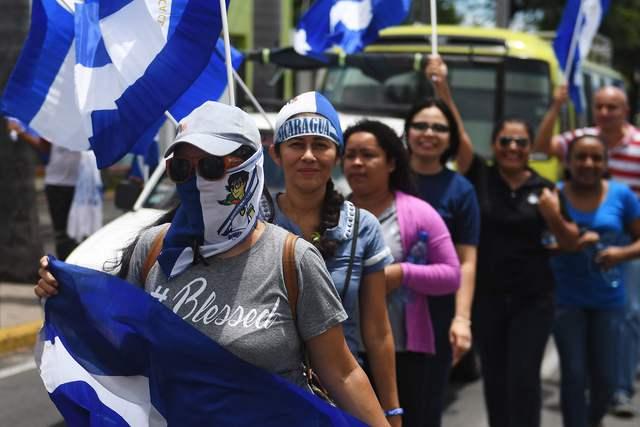 La oposición nicaragüense anuncia paro nacional