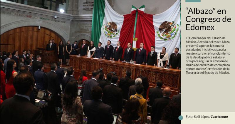 Del Mazo se aviva en Edomex: pide más deuda (5 mil millones) antes de que llegue mayoría de Morena