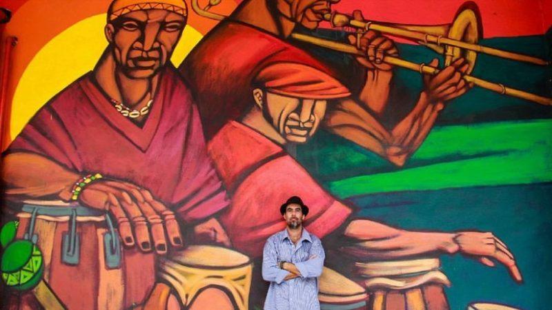 Kalaka, el artista venezolano que ilustra la cultura mexicana en EE.UU.