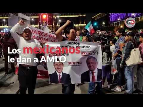 Video: México vira a la izquierda, y le da un bono generoso a AMLO para que inicie el cambio que ofreció