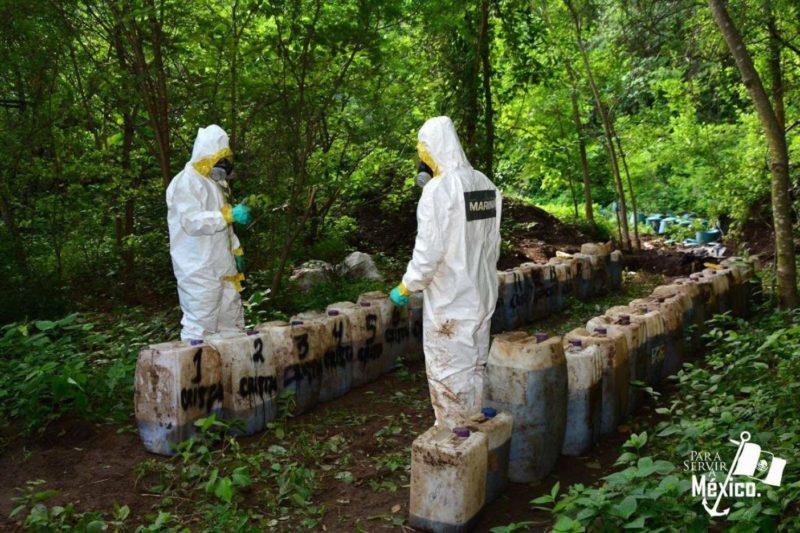 Videos: Golpe histórico de Semar: incautan 50 toneladas decristalen Sinaloa
