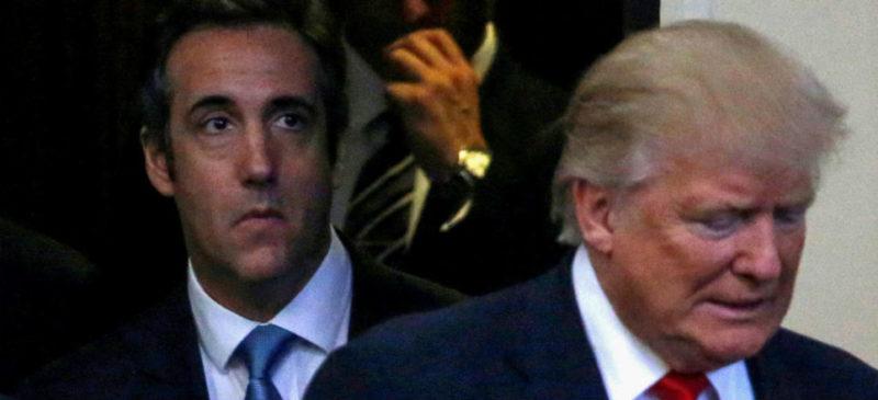 """Trump: Cohen """"inventa historias"""" para obtener un acuerdo; Manafort, """"un hombre valiente"""""""