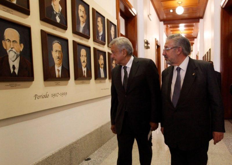 Ambiente cordial en reunión con AMLO, dicen ministros