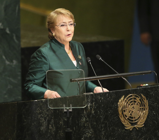 Designan a Bachelet para derechos humanos de la ONU