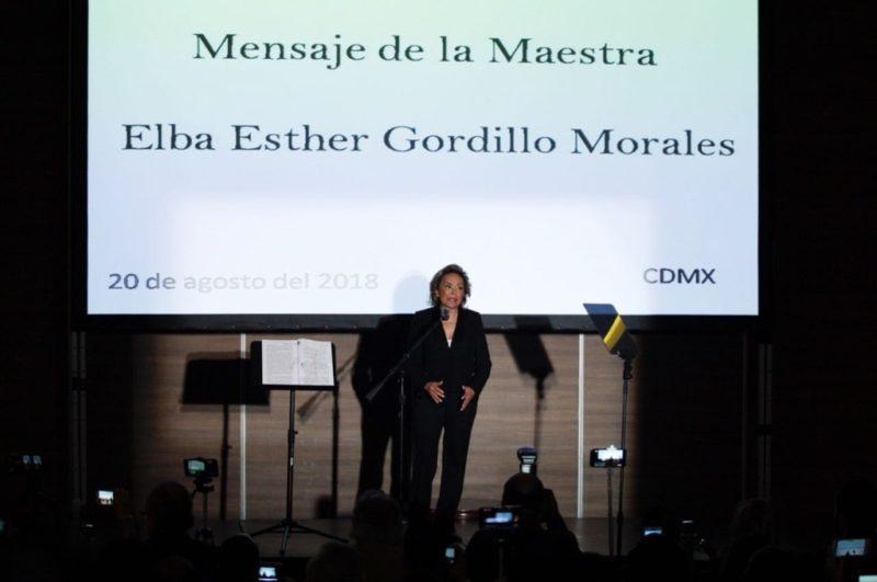 Video: Soy víctima de persecución política de acoso e injusticia, dice Gordillo al inicio del ciclo escolar